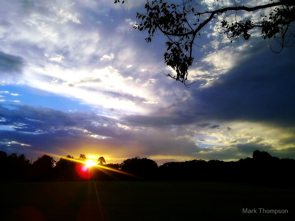 sunset by mark thompson