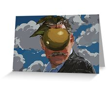 Magritte Braxiatel Greeting Card