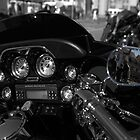 Reflections on a Harley by Ian Kemp