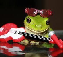 Frog Rocker by Cathie Trimble