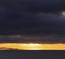 Stormy sunrise over Weymouth  by James  Key