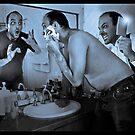 Be careful when shaving by Paul Grinzi