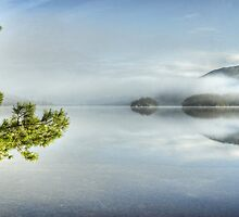 Coniston Water ,First Day Of March by Jamie  Green