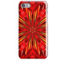 Red Berry Kaleidoscope iPhone Case/Skin