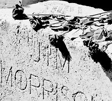 Jim Morrison grave by kristinmoore