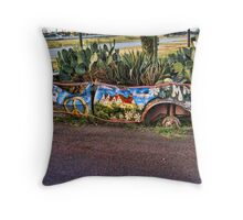 Car Plant Holder Now Thats's Different! Throw Pillow