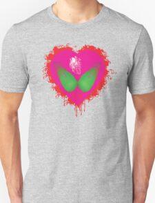 lovebomb iiis evol (blood splatter) Unisex T-Shirt