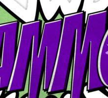 BLAMMO! Sticker