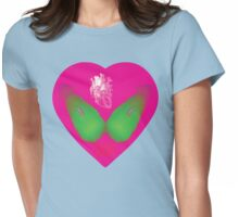 lovebomb iiis evol Womens Fitted T-Shirt