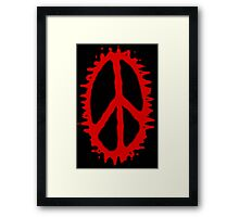 Peace at a Price Framed Print