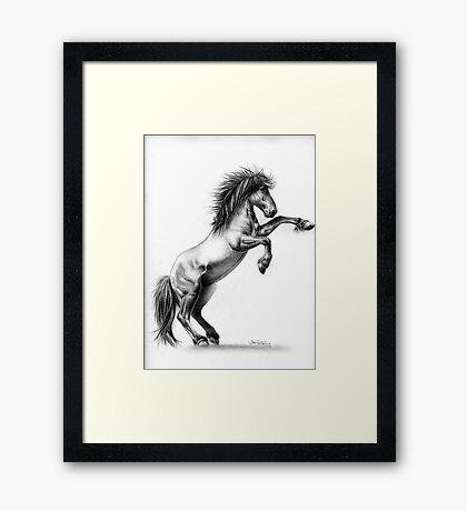 Wild. Framed Print