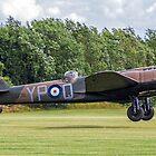 Bristol Blenheim IF L6739 G-BPIV landing at East Kirkby by Colin Smedley