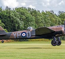Bristol Blenheim IF L6739 G-BPIV landing at East Kirkby by Colin Smedley