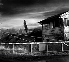 Abandoned Crossing & Signal Box, Co Westmeath, Ireland by 2cimage