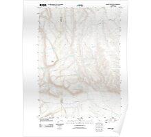 USGS Topo Map Oregon Johnny Creek SW 20110818 TM Poster