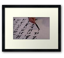 Hand is back! Framed Print