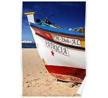 Algarve Fishing Boat Poster