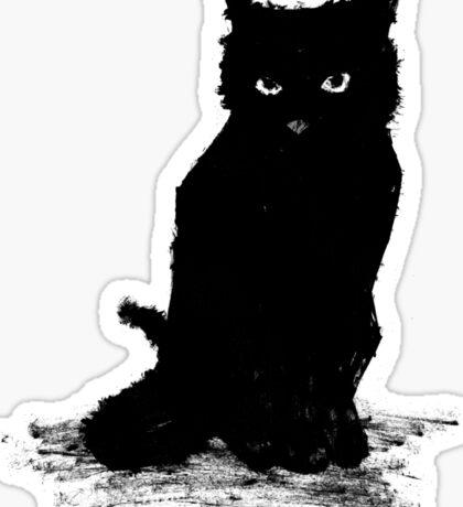 Webster The Cat (Large Version) Sticker