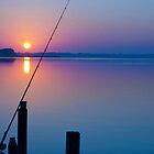 Gone fishing at dawn by RBuey