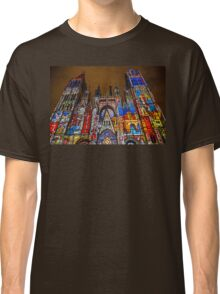 France. Normandy. Rouen. Cathedral. Light and Sound Show. Classic T-Shirt