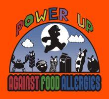 POWER UP Against Food Allergies  Kids Tee