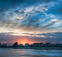 Winter Sunset by Joe Jennelle