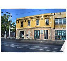 Provincial Hotel, Brunswick, Melbourne Poster
