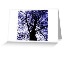 Blue Monday Greeting Card