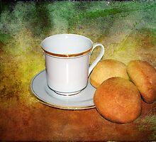 Tea Cup Still Life by DottieDees