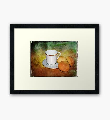 Tea Cup Still Life Framed Print