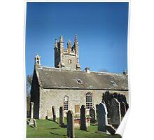Glasserton Church, Glasserton, Scotland Poster