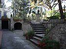 Tuscan Villa courtyard  by John Carpenter