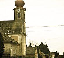 Village church, Csokonyavisonta, Hungary by NicoleBPhotos