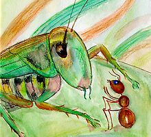 """The story about how an ant went to the home"" by Nataliya Stoyanova"