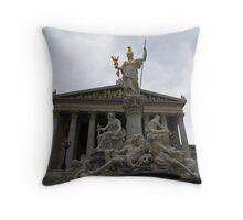 Austrian Parliament Building Throw Pillow