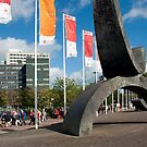 Entry walk to the Trade Fair Halls Utrecht by steppeland