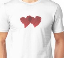 Connected Love Hearts  Unisex T-Shirt