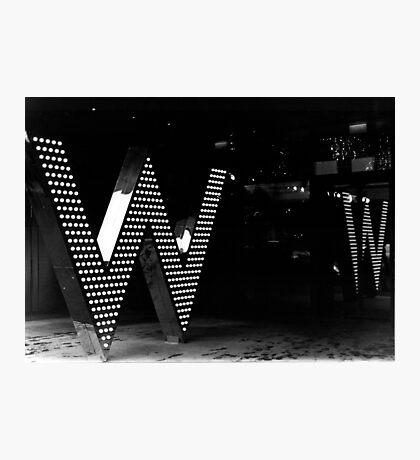 W      (35mm) Photographic Print