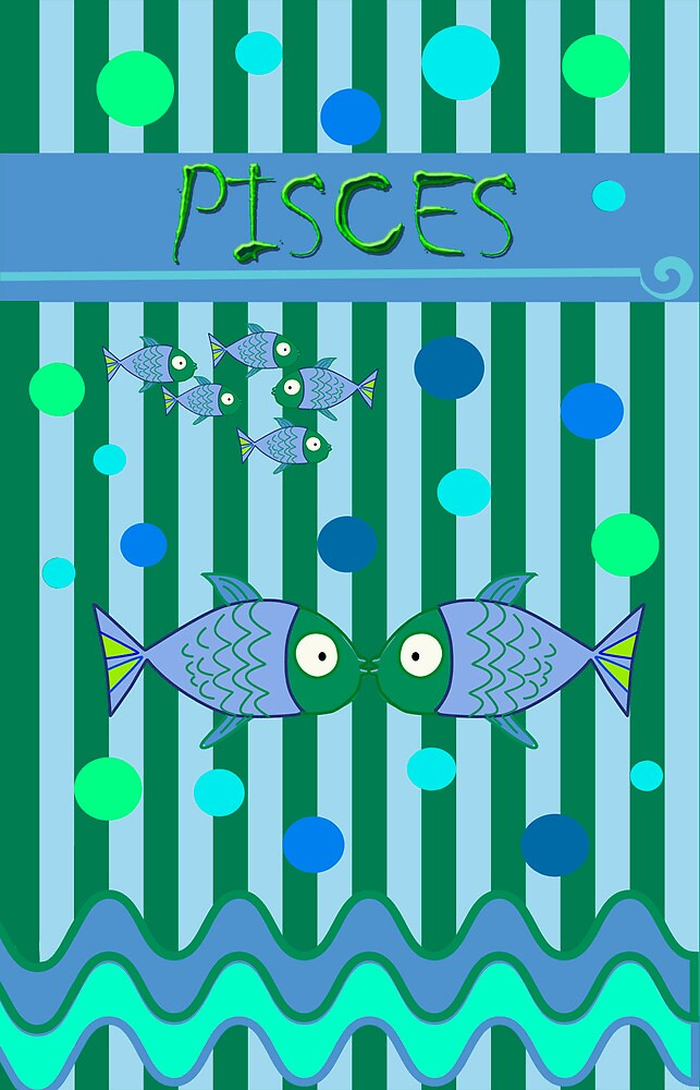 Pisces by walstraasart