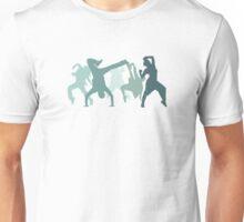 Hip Hop Dancers Illustration  Unisex T-Shirt