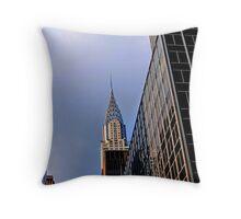 42nd Street and Lexington Throw Pillow