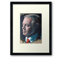 Study - male Framed Print