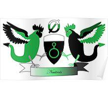 Neutrois Crest Poster
