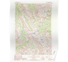 USGS Topo Map Oregon Eagle Cap 279742 1990 24000 Poster