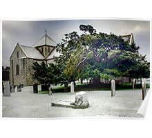 11th century norman church HDR Poster
