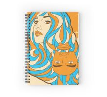 SF1 meetup poster Spiral Notebook