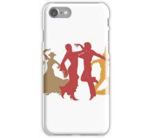 Colorful Flamenco Dancers iPhone Case/Skin