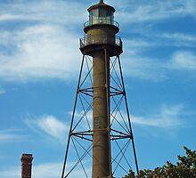 Sanibel Lighthouse 2011 by Karen Checca
