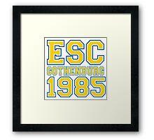ESC Gothenburg 1985 [Eurovision] Framed Print