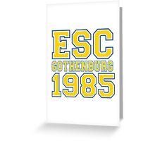 ESC Gothenburg 1985 [Eurovision] Greeting Card